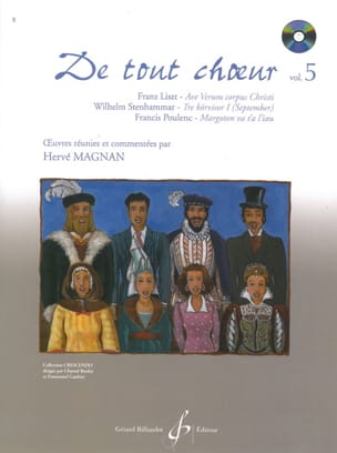 De tout choeur Volume 5 Hervé Magnan Partition Chœur - laflutedepan