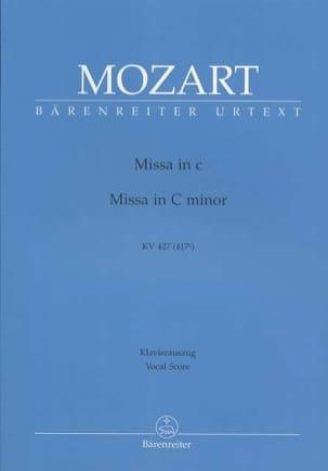 Grande Messe en Ut mineur K 427 417a MOZART Partition laflutedepan