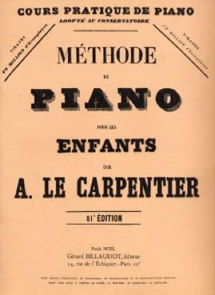 Méthode de Piano Pour les Enfants - Carpentier A Le - laflutedepan.com