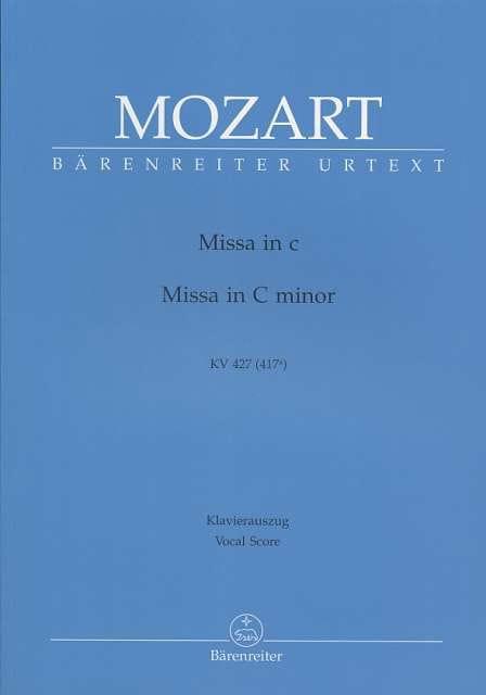Grande Messe en Ut mineur K 427 417a - MOZART - laflutedepan.com