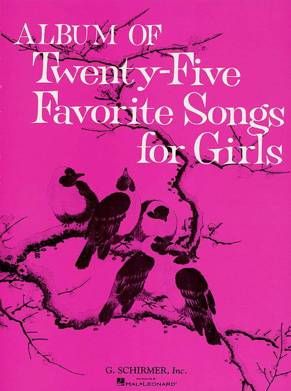 Album of 25 Favorite Songs for Girls (Revised) - laflutedepan.com