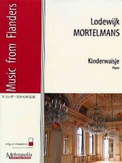 Valse Enfantine Lodewijk MORTELMANS Partition Piano - laflutedepan