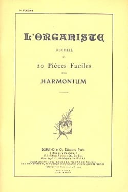 L'organiste Volume 1 Partition Orgue - laflutedepan