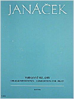 Compositions Pour Orgue JANACEK Partition Orgue - laflutedepan