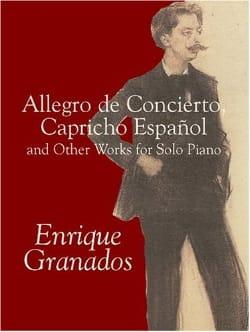 Allegro de Concierto, Capricho Espagnol And Other Works For Piano laflutedepan