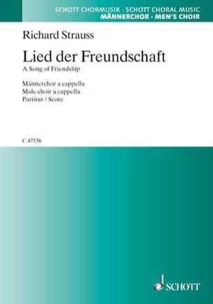 Lied Der Freundschaft Opus 45-2 Richard Strauss Partition laflutedepan