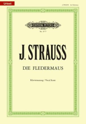 Die Fledermaus Johann fils Strauss Partition Opéras - laflutedepan