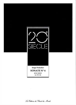 Sonate pour piano n° 6 Opus 82 PROKOFIEV Partition laflutedepan
