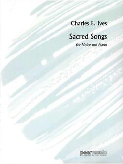 Sacred Songs IVES Partition Mélodies - laflutedepan