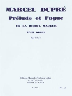 Prélude et Fugue Opus 36-2 DUPRÉ Partition Orgue - laflutedepan