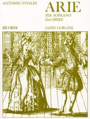 Arie Per Soprano Da Opere VIVALDI Partition Opéras - laflutedepan