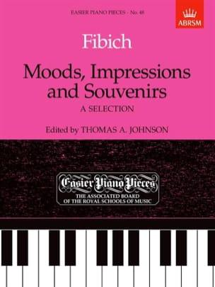Moods, Impressions And Souvenirs Zdenek Fibich Partition laflutedepan
