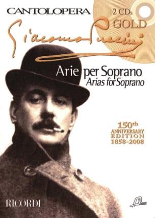 Arie Per Soprano + 2 Cds PUCCINI Partition Opéras - laflutedepan