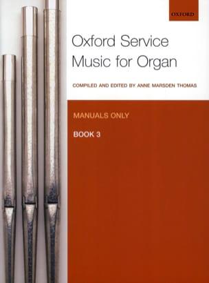 Oxford Service Music For Organ. Volume 3 Partition laflutedepan