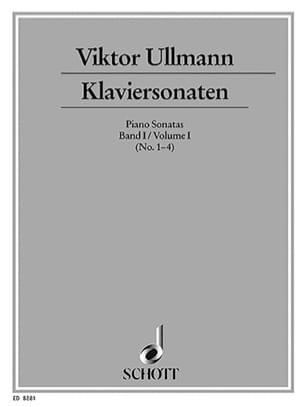 Klaviersonaten, Bd 1 Viktor Ullmann Partition Piano - laflutedepan
