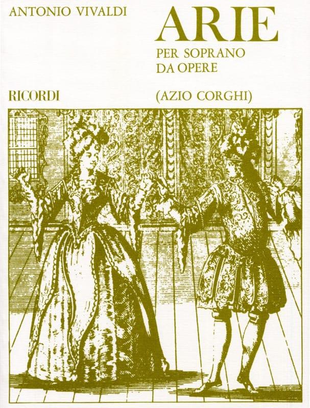 Arie Per Soprano Da Opere - VIVALDI - Partition - laflutedepan.com