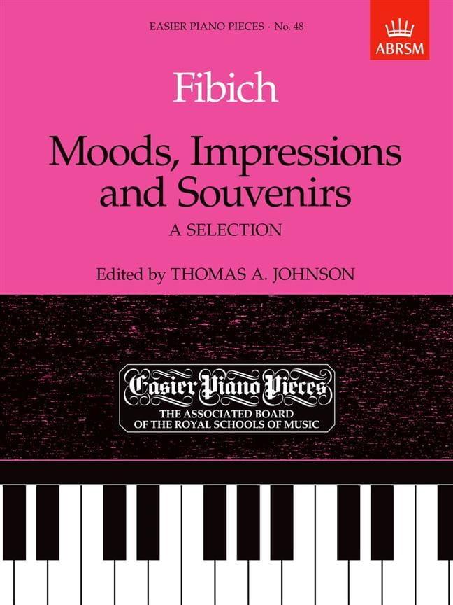Moods, Impressions And Souvenirs - Zdenek Fibich - laflutedepan.com
