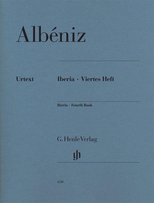 Iberia - Quatrième cahier - ALBENIZ - Partition - laflutedepan.com