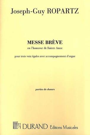 Messe Brève En L'honneur de Ste Anne - Choeur seul laflutedepan