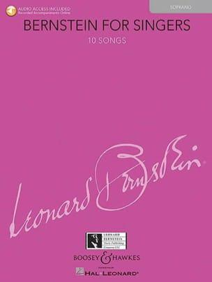 Bernstein for Singers. Soprano BERNSTEIN Partition laflutedepan