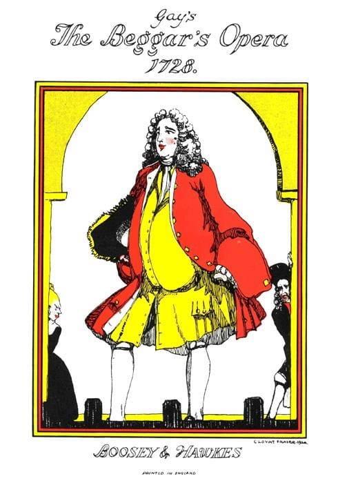 The Beggar's Opera - Gay John / Austin Frederic - laflutedepan.com