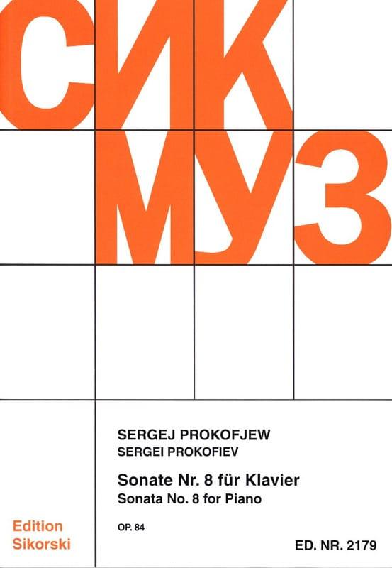 Sonate pour piano n° 8 Opus 84 - PROKOFIEV - laflutedepan.com