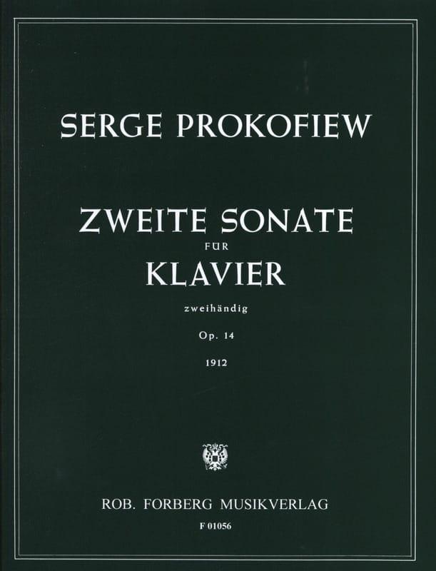 Sonate pour piano n° 2 Opus 14 - PROKOFIEV - laflutedepan.com