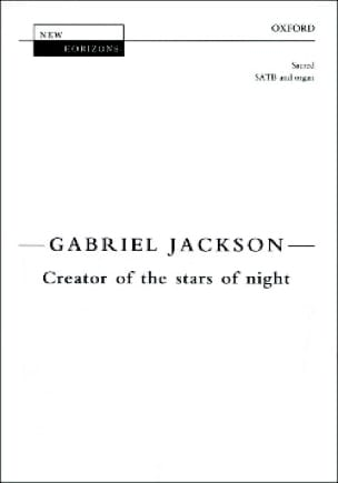 Creator Of The Stars Of Night - Jackson - Partition - laflutedepan.com