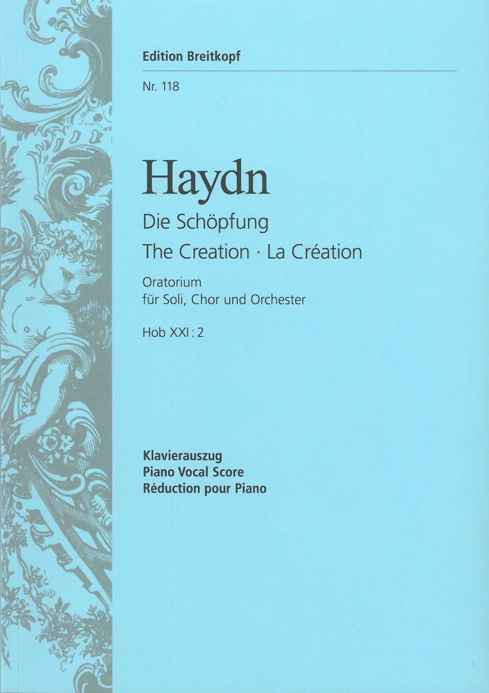 La Création - HAYDN - Partition - Chœur - laflutedepan.com