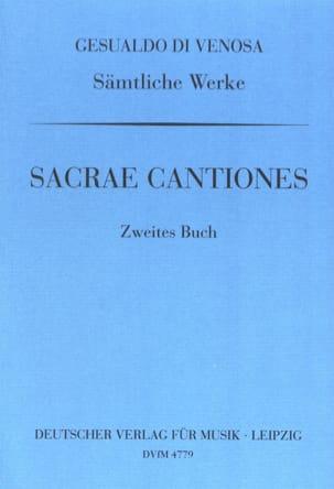 Sacrae Cantiones Volume 2 di Venosa, Carlo Gesualdo laflutedepan