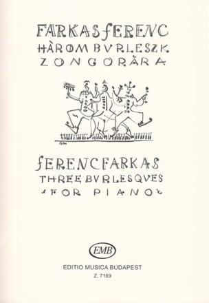 3 Burlesques Ferenc Farkas Partition Piano - laflutedepan