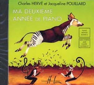 Ma 2ème Année de Piano. CD - HERVÉ - POUILLARD - laflutedepan.com