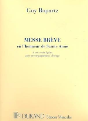 Messe Brève en l'honneur de Sainte-Anne - laflutedepan.com
