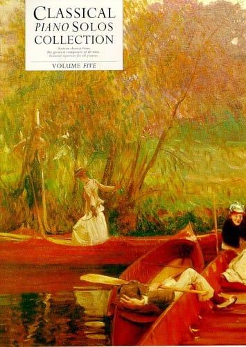 Classical Piano Solo Collection - Volume 5 - laflutedepan.com