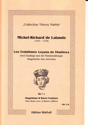 Les 3 Leçons de Ténèbres Michel-Richard de Lalande laflutedepan