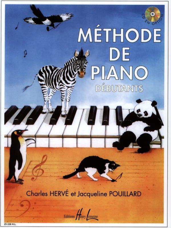 Méthode de Piano Débutants - HERVE POUILLARD - laflutedepan.com