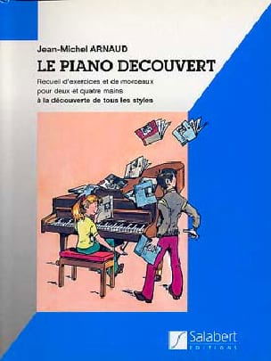 Piano découvert Jean-Michel Arnaud Partition Piano - laflutedepan