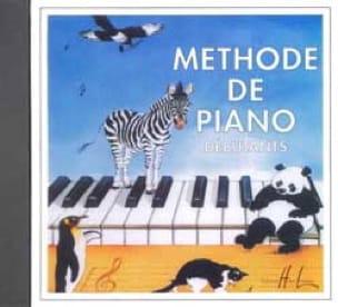Méthode de Piano Débutants - CD - HERVÉ - POUILLARD - laflutedepan.com