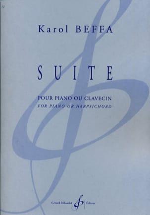 Suite Karol Beffa Partition Piano - laflutedepan