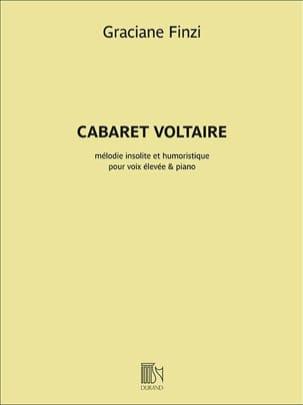 Cabaret Voltaire. Voix haute Graciane Finzi Partition laflutedepan