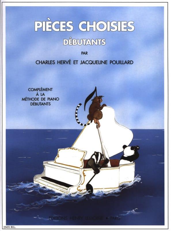 Pièces choisies Débutants - HERVÉ - POUILLARD - laflutedepan.be