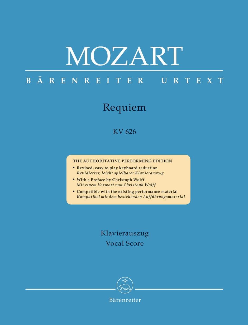 Requiem - MOZART - Partition - Chœur - laflutedepan.com