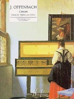 Cancan D' Orphée Aux Enfers OFFENBACH Partition Piano - laflutedepan