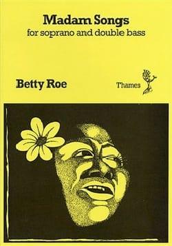 Madam Songs Betty Roe Partition Contrebasse - laflutedepan