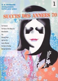 Succès Années 70 Volume 1 Partition Piano - laflutedepan