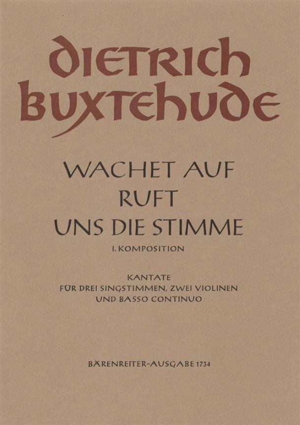 Wachet Auf Ruft Uns Die Stimme - BUXTEHUDE - laflutedepan.com