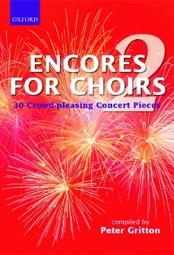 Encores For Choirs Volume 2. Partition Chœur - laflutedepan