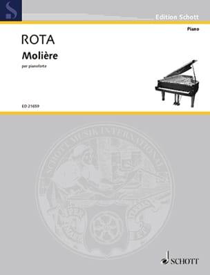 Molière ROTA Partition Piano - laflutedepan