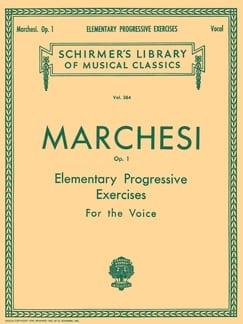 Elementary Progressive Exercices Opus 1 Mathilde Marchesi laflutedepan