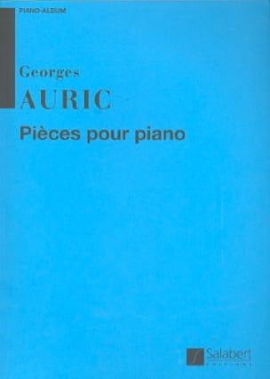 Pièces Pour Piano - Georges Auric - Partition - laflutedepan.com